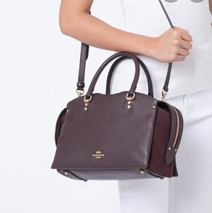 Coach Bags - Coach Mixed Leather Drew handbag